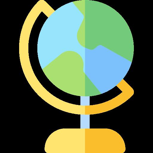 Icono de globo terraqueo