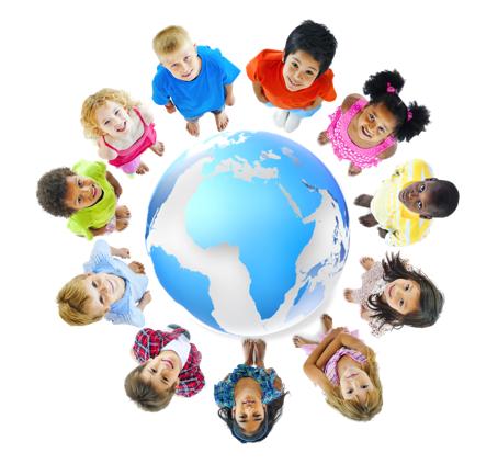 Niños alrededor del mundo Globalk