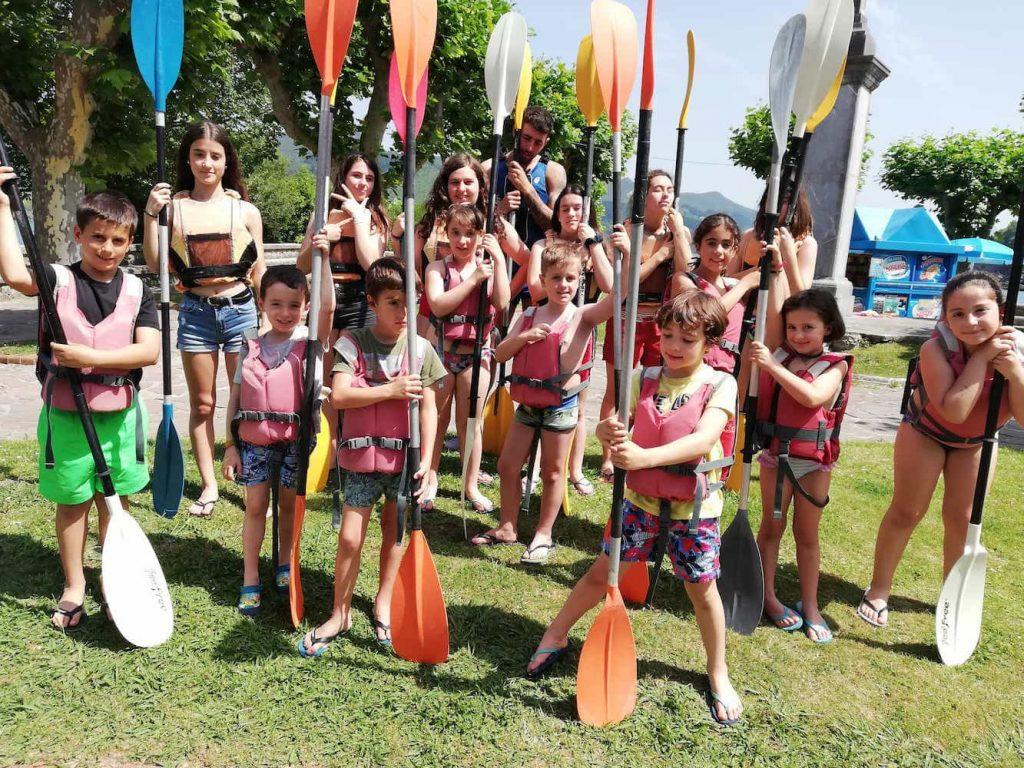 Campamento de inglés para niños en Mundaka